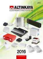 2016 Ürün Kataloğu