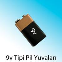 9V pil yuvaları